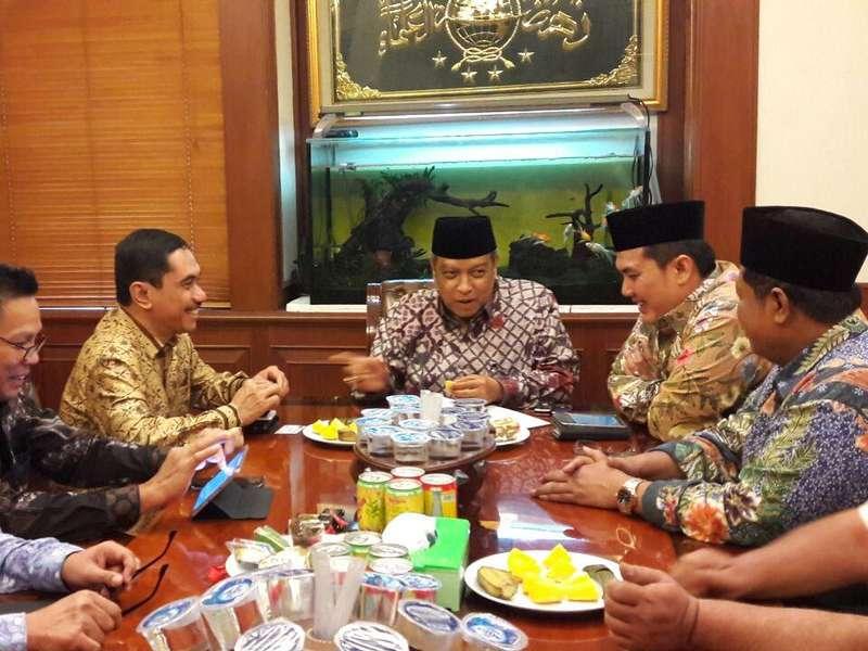 Kepala BNPT Temui Ketum PBNU, Ketum Muhammadiyah, dan Syafii Maarif