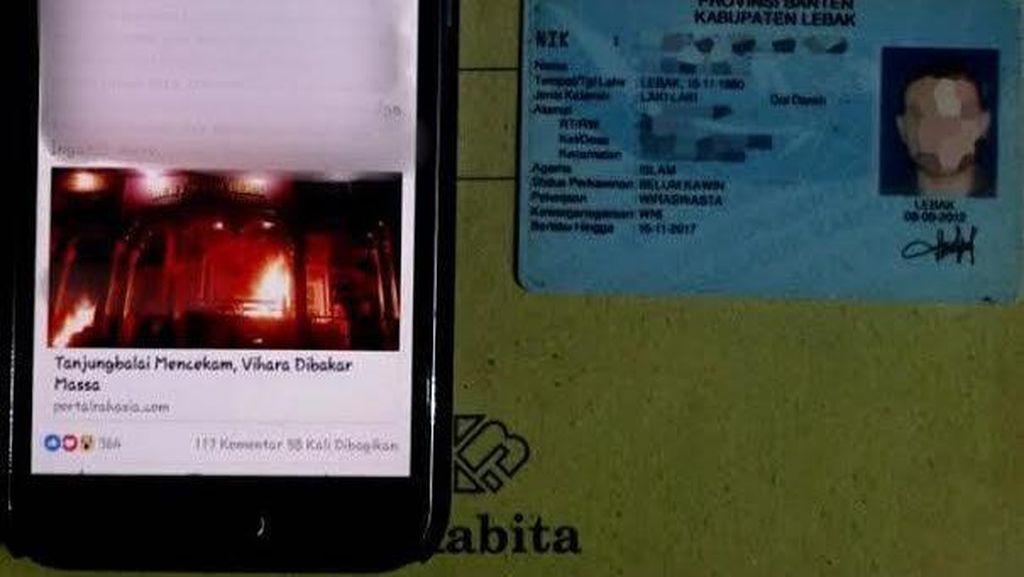 Guru Bahasa Inggris yang Ditangkap Polisi Tulis Status SARA Soal Tanjungbalai