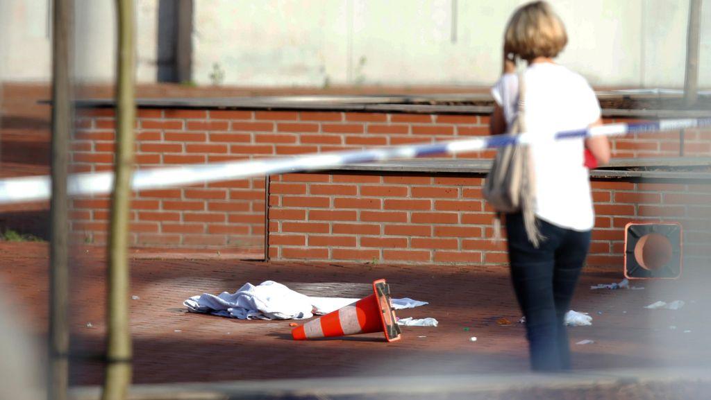 Pria Bergolok yang Serang 2 Polwan Belgia Berasal dari Aljazair