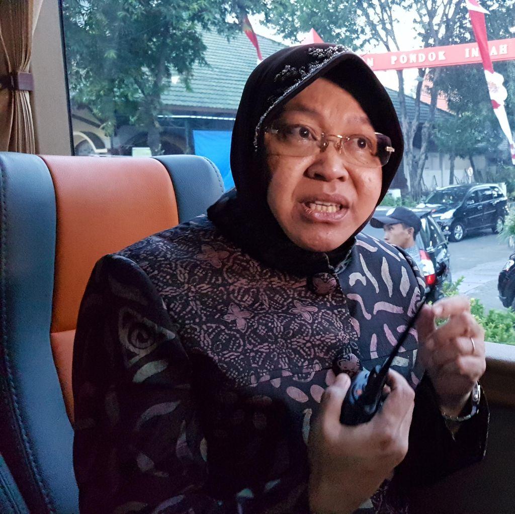 Soal Pilgub DKI 2017, Risma: Aku Konsentrasi di Surabaya