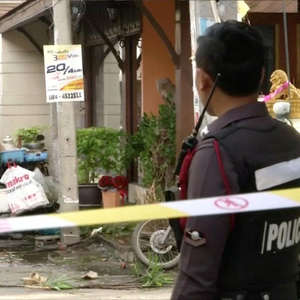 Dua Bom Meledak di Thailand, 1 Tewas 30 Orang Luka