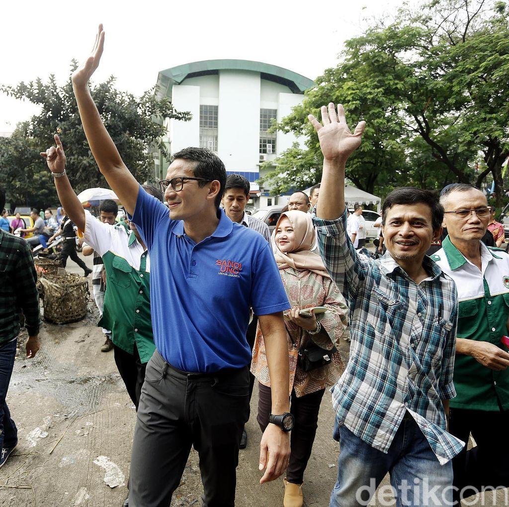 Sandiaga Masih Yakin PAN Bakal Bersamanya di Pilgub DKI 2017