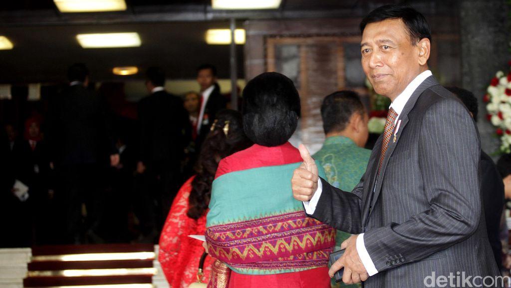 15 Pengprov Diklaim Usung Wiranto Jadi Calon Ketum PBSI