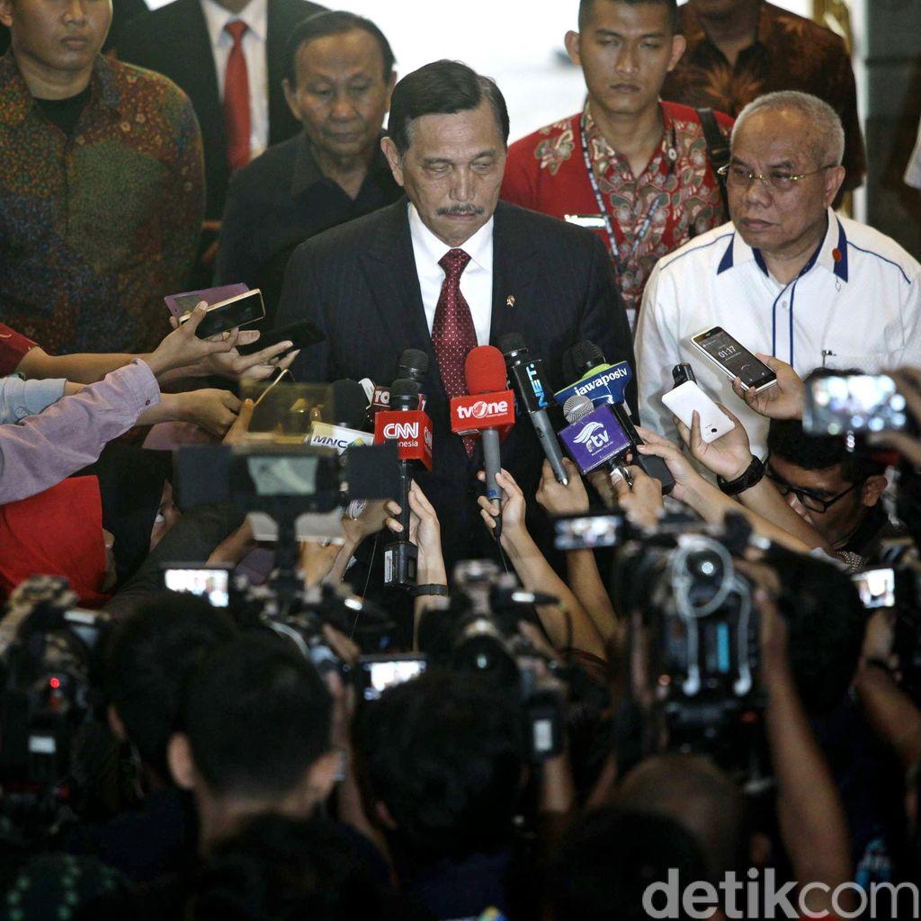Ke Malaysia, Luhut Sodorkan Blok East Natuna Pada Petronas