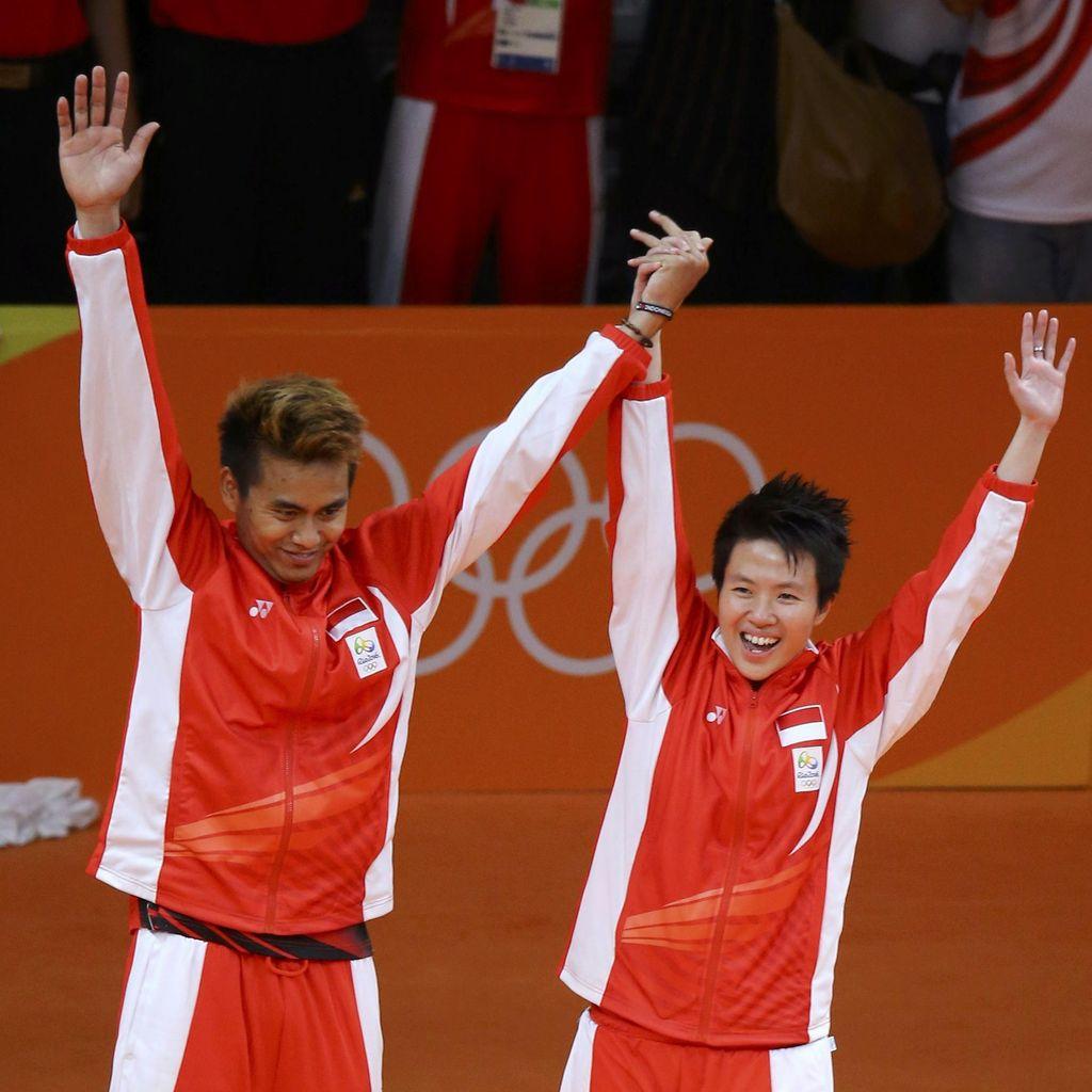 Lagi, Liliyana Natsir Persembahkan Medali Olimpiade Saat 17 Agustus