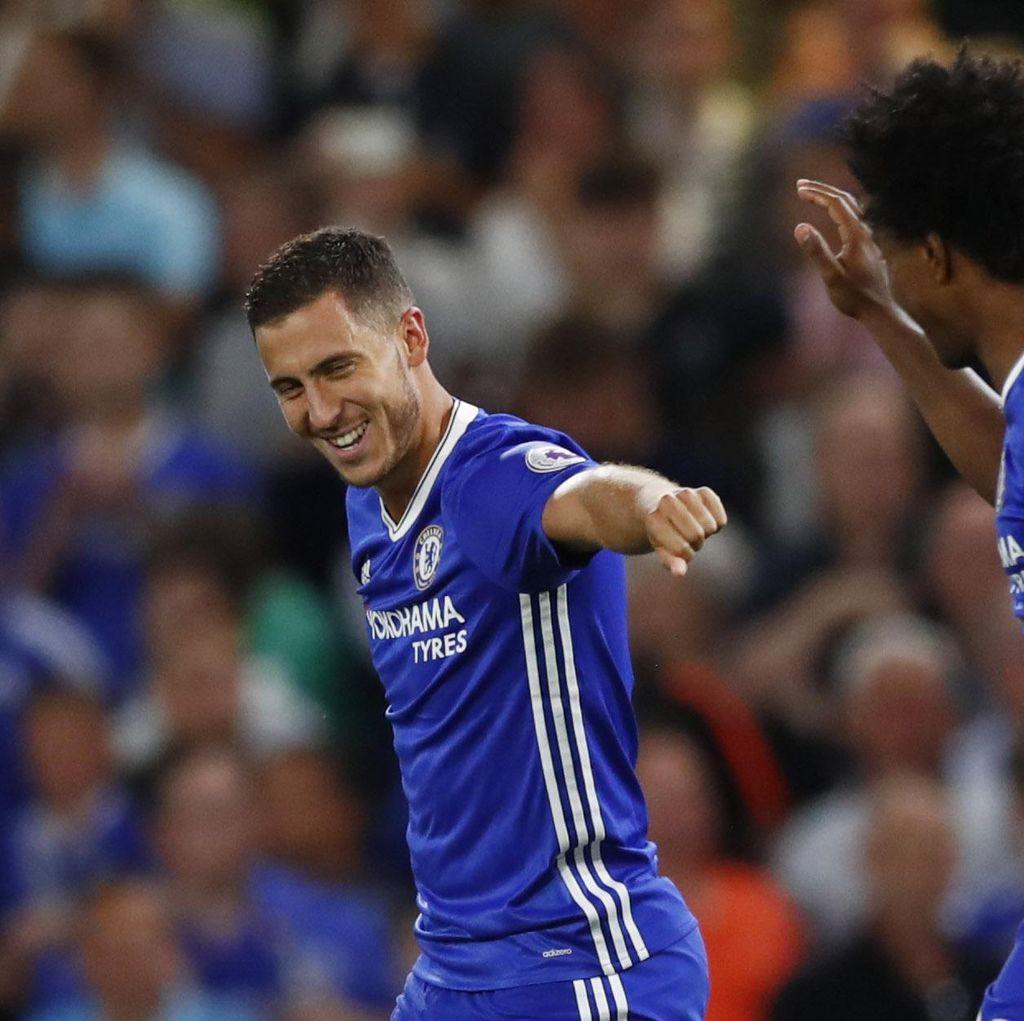 Hazard Dinilai Jadikan Chelsea Favorit Juara Premier League