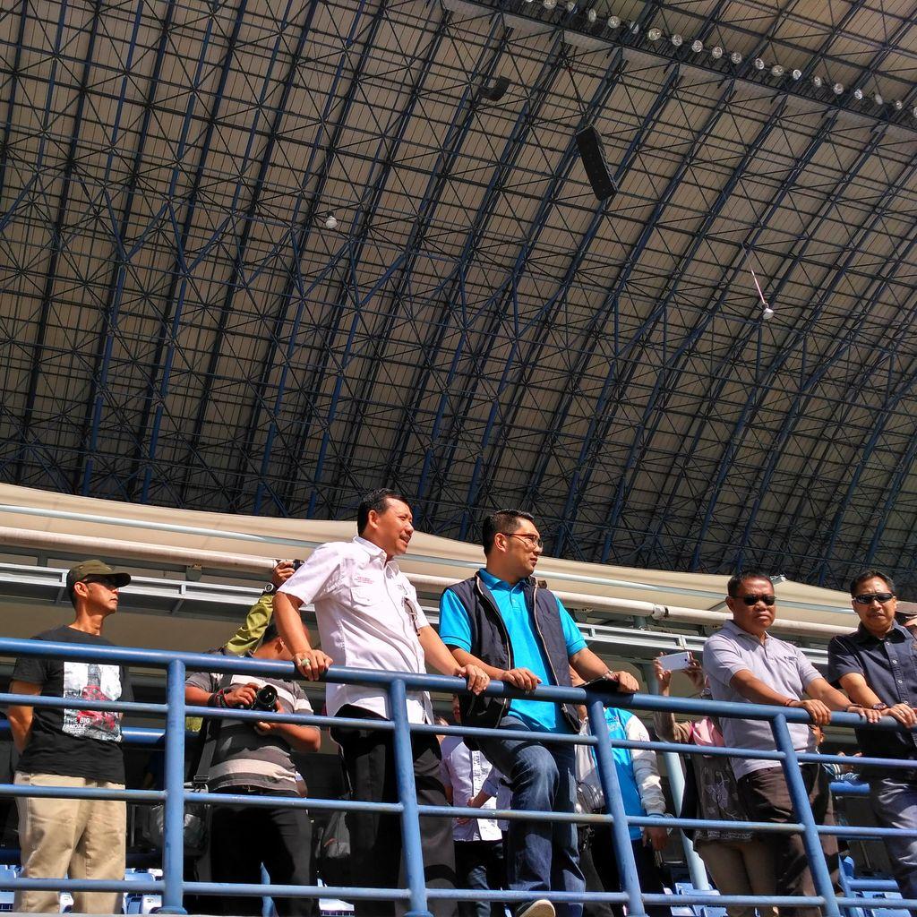 Stadion Gelora Bandung Lautan Api Siap Gelar Pembukaan PON 2016