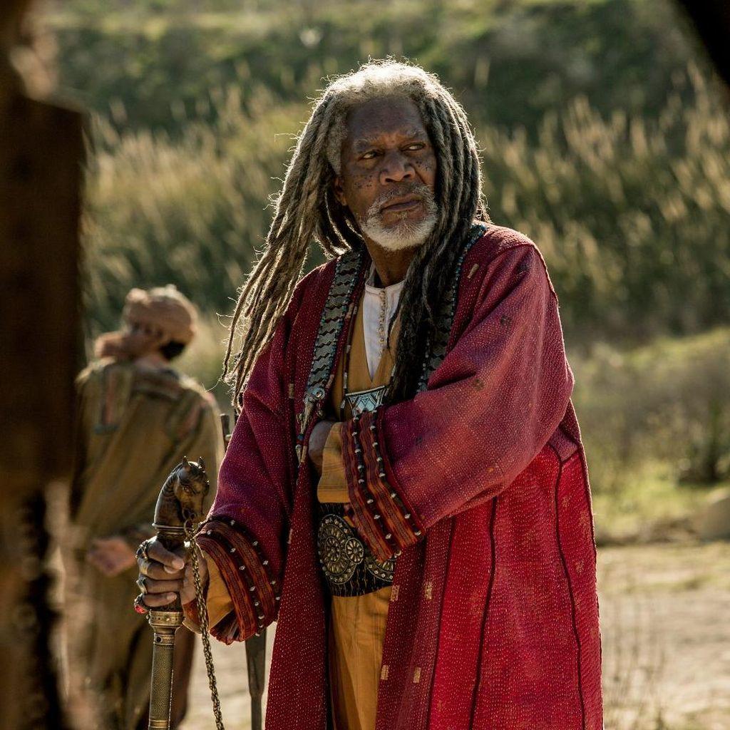 Penampilan Gimbal Morgan Freeman di Film Terbaru