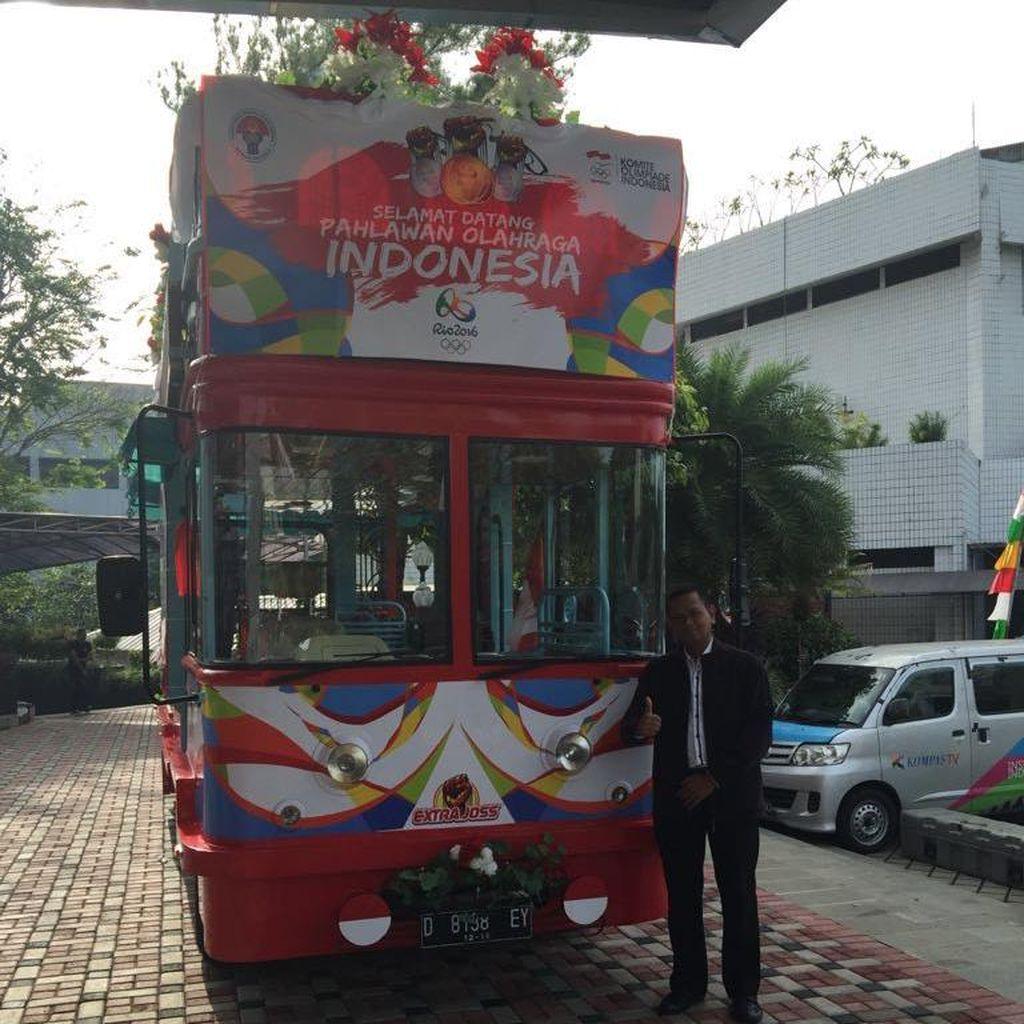 Setelah Dirias 12 Jam, Begini Wujud Akhir Bus Bandros