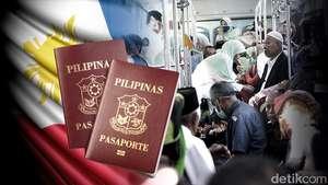 Berhaji dengan Paspor Filipina