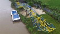Jembatan Apung Pertama RI Dibangun di Cilacap, Ini Dampak Ekonominya