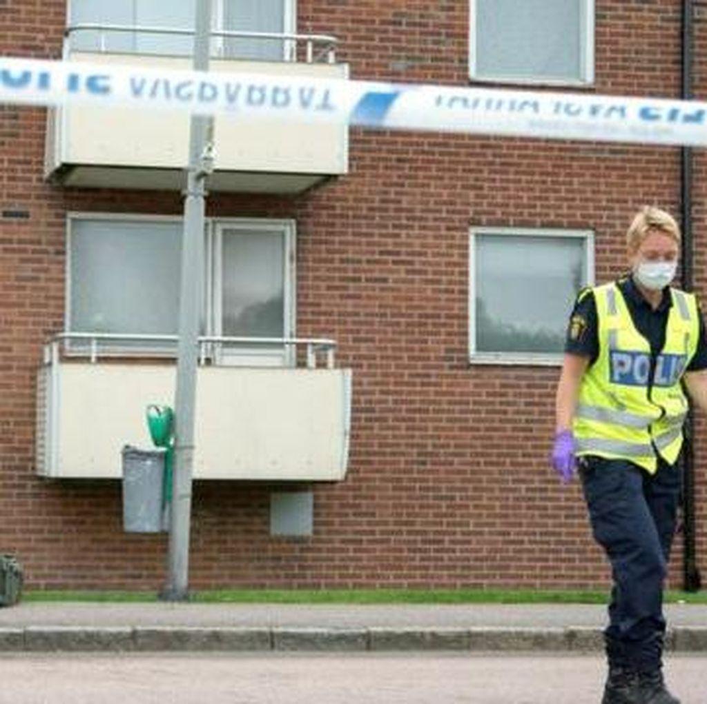 Serangan Granat di Apartemen Swedia, Seorang Bocah Tewas