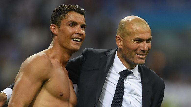 Ronaldo Memuji Zidane Jadi Juru Kunci Kesuksesan Real Madrid