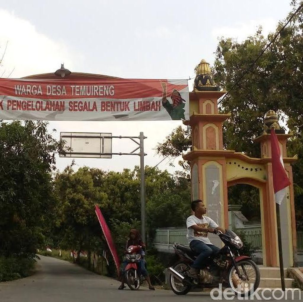 Pembangunan Pengolahan Limbah B3 Pemprov Jatim di Mojokerto Ditolak Warga