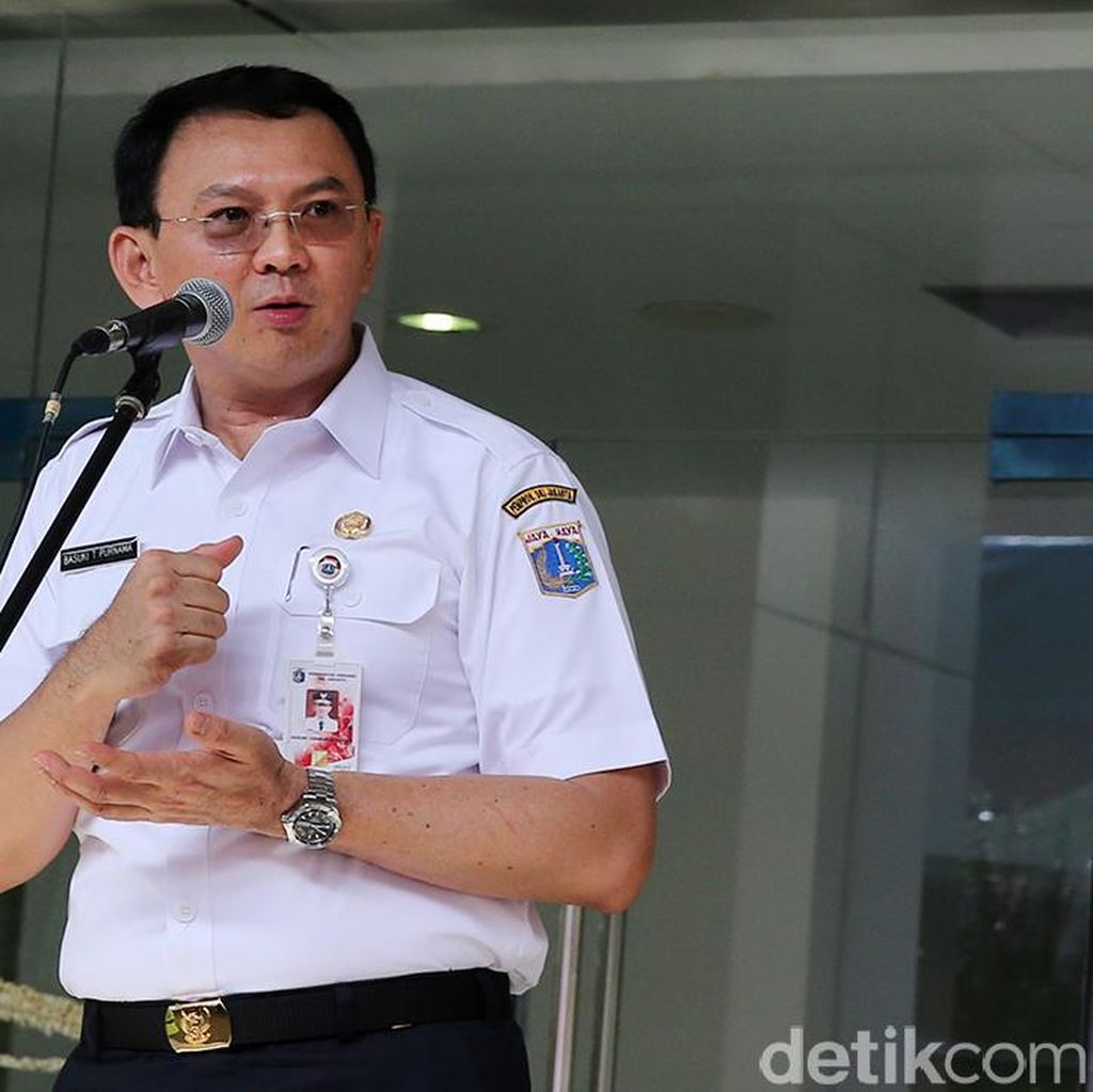 Ahok Ingin Kehidupan Warga Jakarta Seperti di Luar Negeri