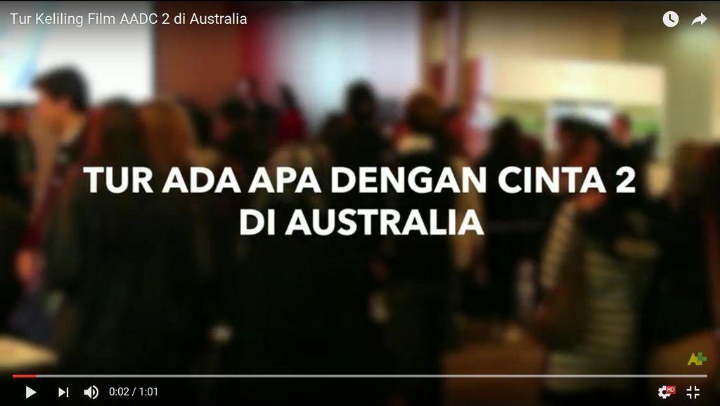 AADC2 Sukses Tur Keliling Australia