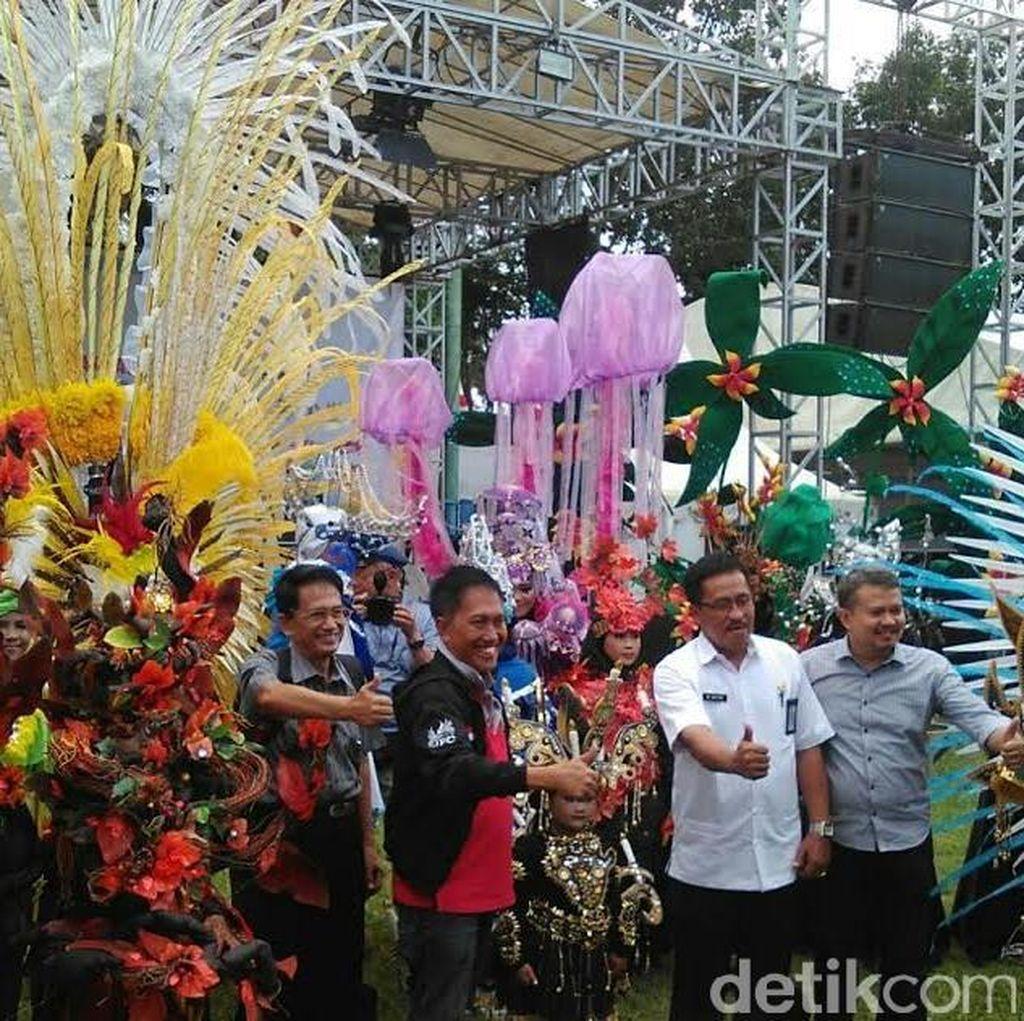 Jember Fashion Carnaval Diharapkan Sedot 300 Ribu Wisatawan