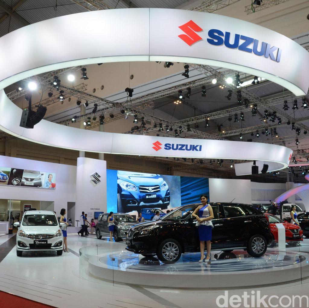 Suzuki Lepas 858 Unit Kendaraan di GIIAS 2016