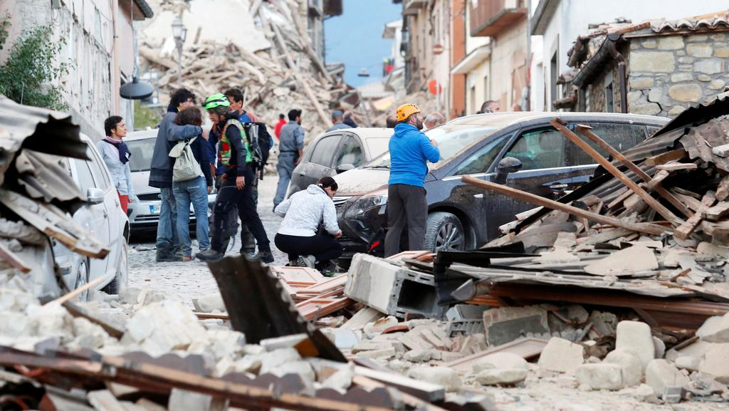 Korban Jiwa Akibat Gempa di Italia Bertambah Jadi 63 Orang