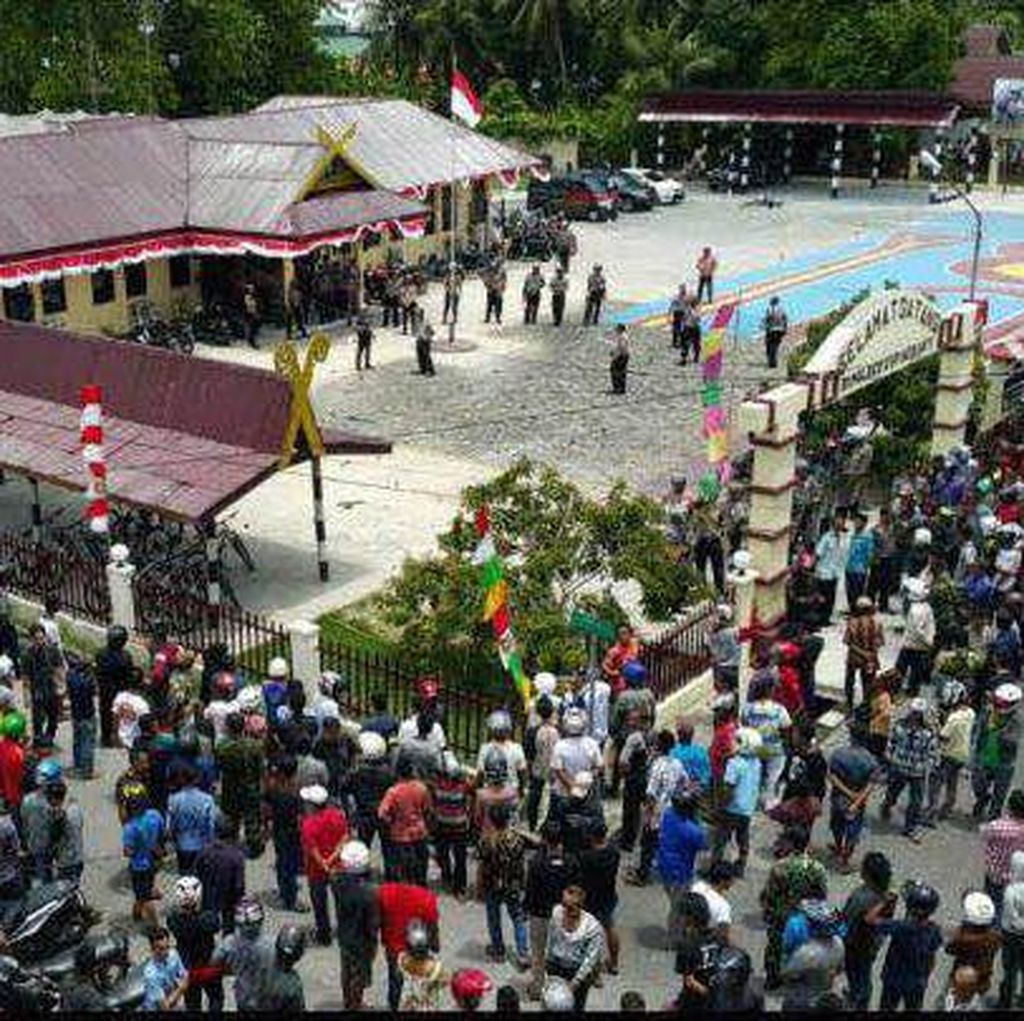 Demo Maut di Meranti, 3 Anggota Polres Dijadikan Tersangka
