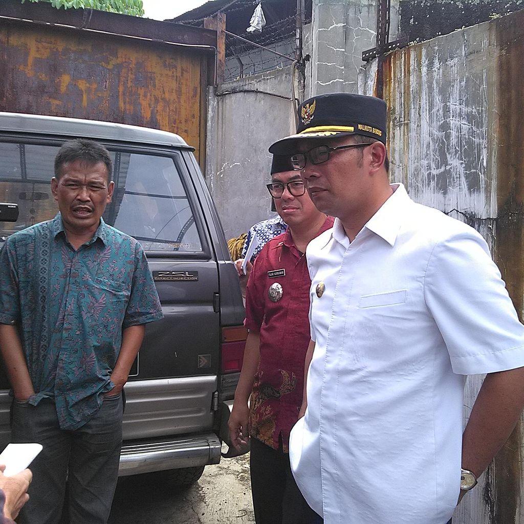 Bersepeda, Ridwan Kamil Blusukan Cek Aset Pemkot