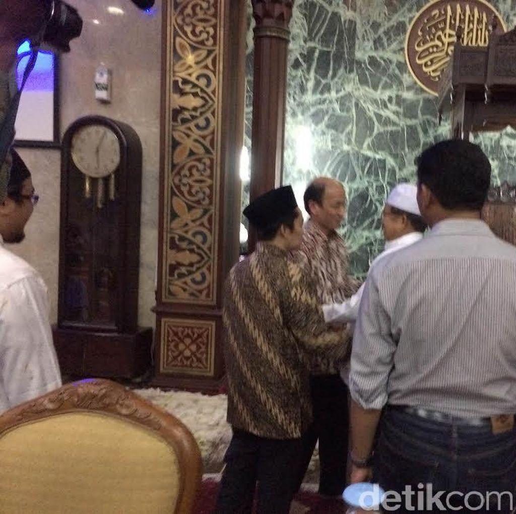 Bertemu Arcandra di Masjid Sunda Kelapa, Wapres JK: Obrolin Dunia Akhirat
