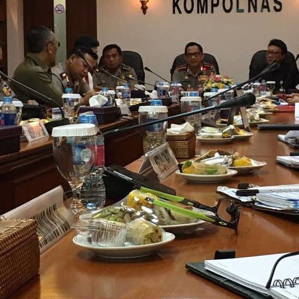 Kapolri Minta Dukungan Kompolnas untuk Perbaiki dan Reformasi Polri