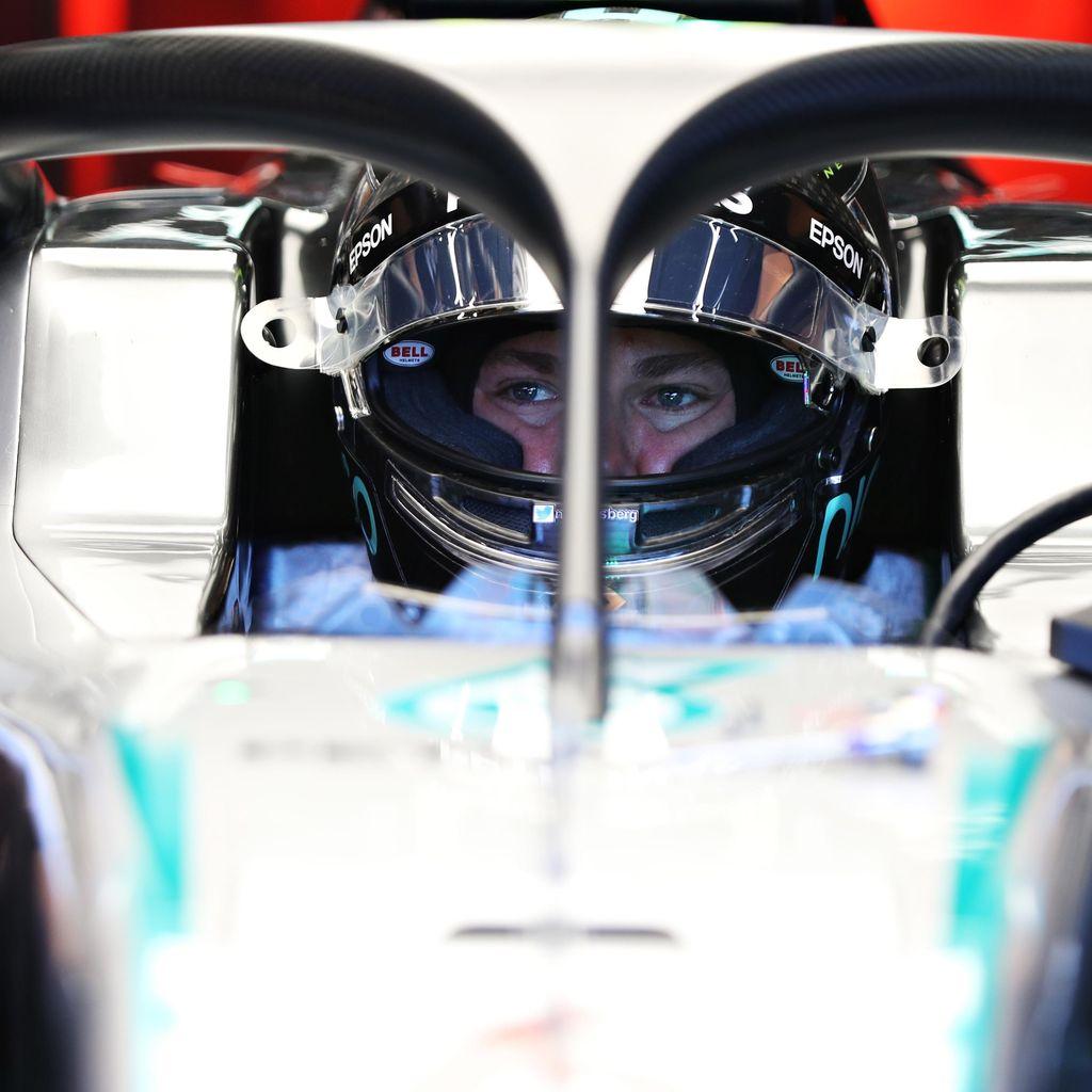 Rosberg Tercepat di Latihan Bebas Pertama, Hamilton Kedua