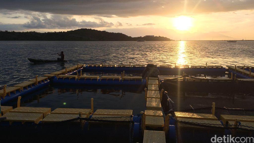 Indahnya Resto Apung Pulau Bungin, Surga Bagi Pencari Ketenangan