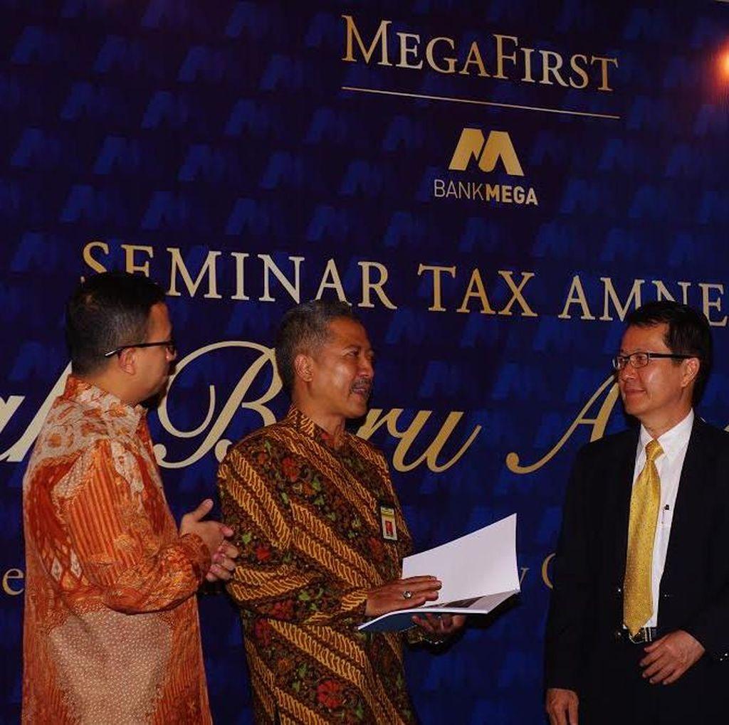 Bank Mega Gelar Sosialisasi Tax Amnesty