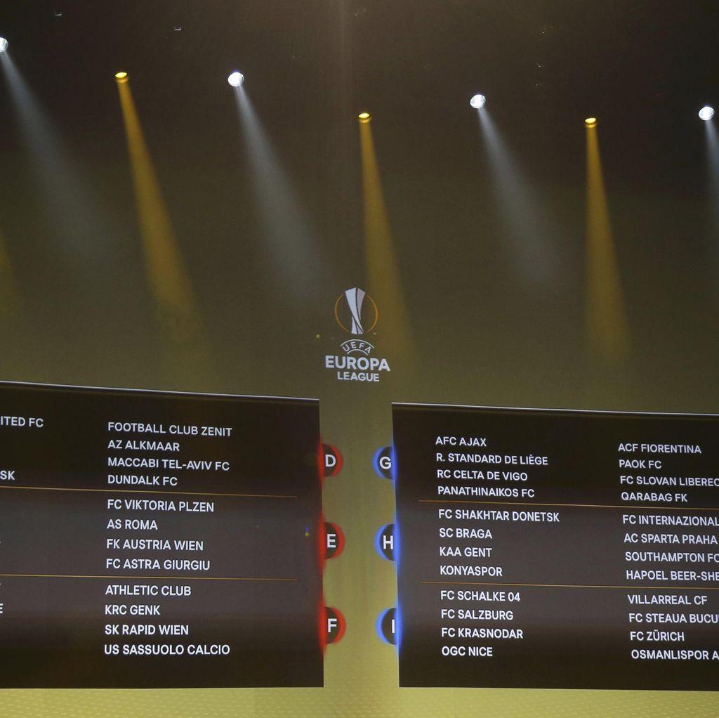 Soal Hasil Drawing Grup Liga Europa, Mourinho: Seperti Liga Champions