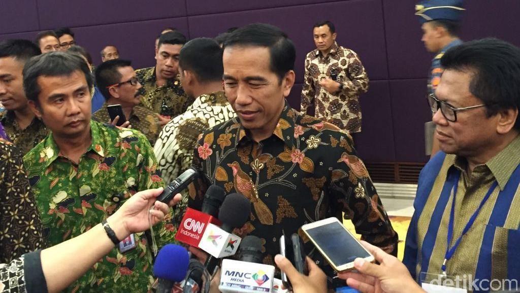 Jokowi Minta DPR Tak Terlalu Banyak Bikin Undang-undang