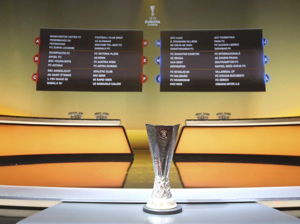Hasil Drawing Liga Europa: MU, Fenerbahce, dan Feyenoord Satu Grup