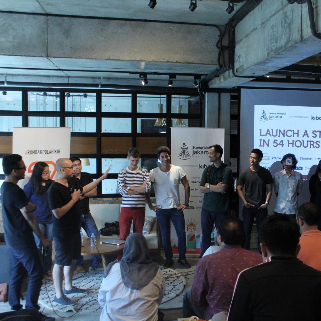 Yuk, Bikin Startup Digital dalam Waktu 54 Jam