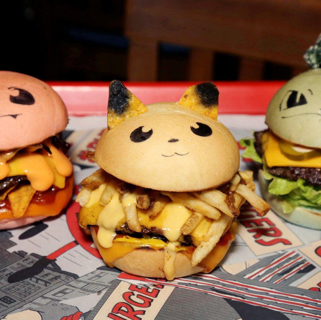 Siap Menyantap Pokeburger yang Super Imut Ini?