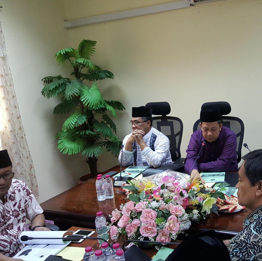 Dipimpin Fahri Hamzah, Rombongan Pengawas Haji DPR Sambangi Daker Makkah