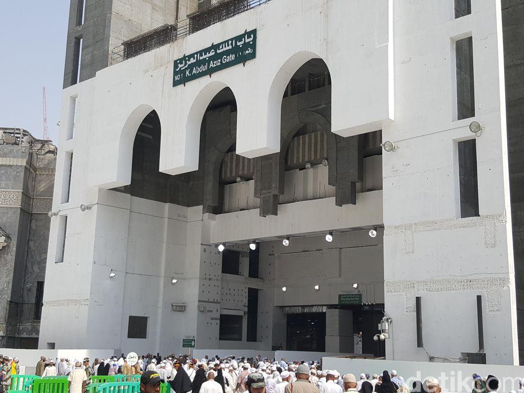 Bab Malik Abdul Aziz, Pintu Utama Masjidil Haram Mulai Dibuka