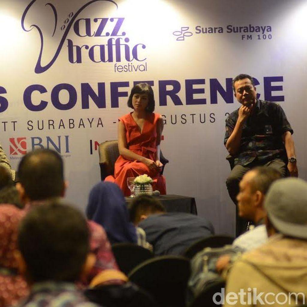 Andien Siap Meriahkan Jazz Traffic Festival 2016 di Surabaya