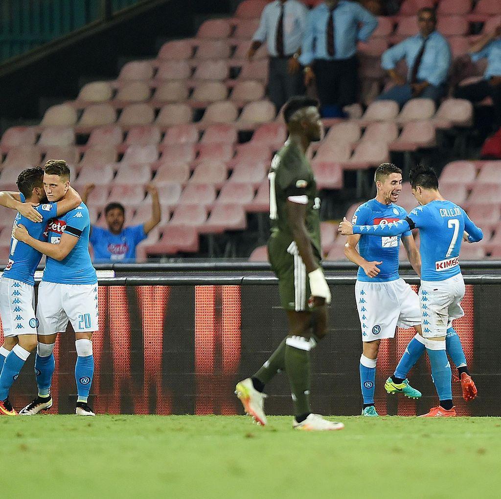 Napoli Menangi Duel Melawan Milan