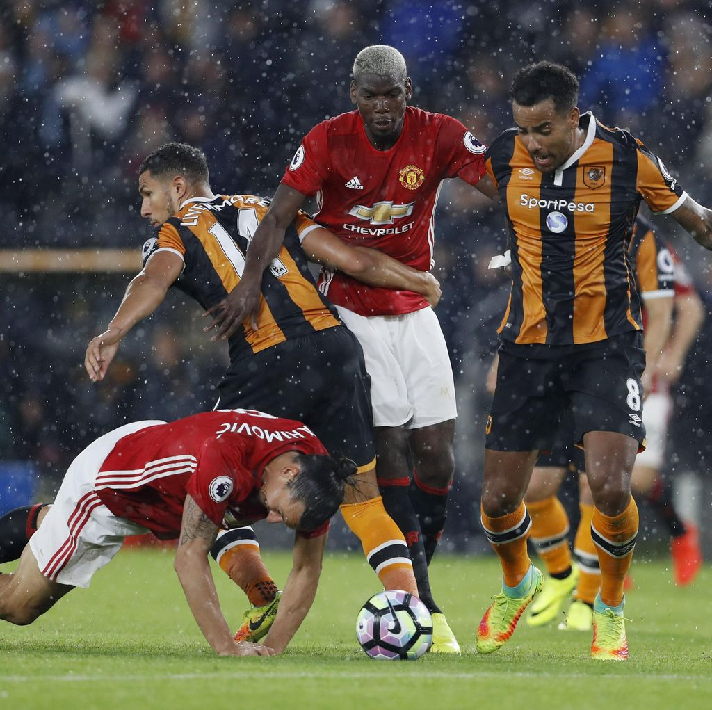 Gol Rashford di Injury Time Menangkan MU atas Hull City