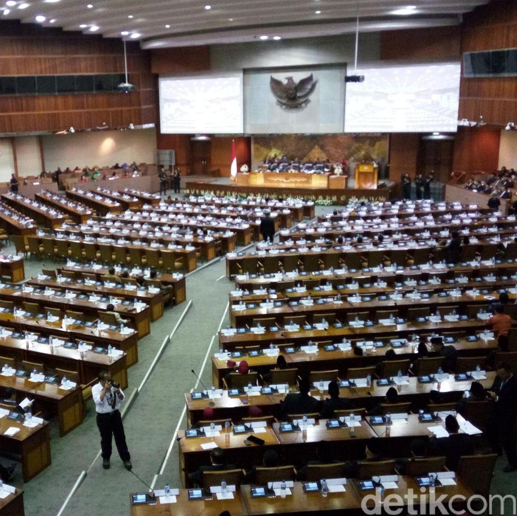 Gelar Paripurna Soal HUT dan Kinerja DPR, 267 Anggota Dewan Tak Hadir