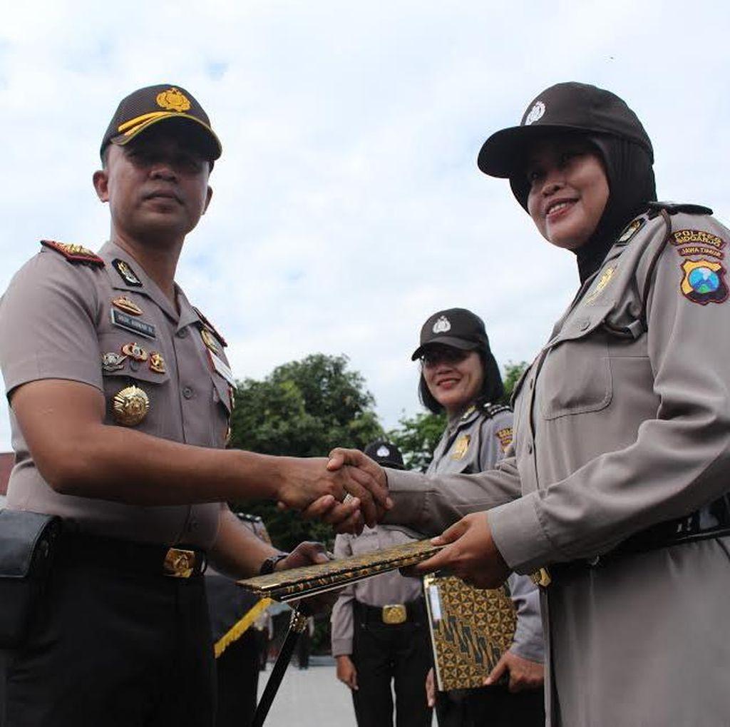 Polres Sidoarjo Perketat Penjagaan Gereja di Wilayahnya Pasca Bom Bunuh Diri di Medan