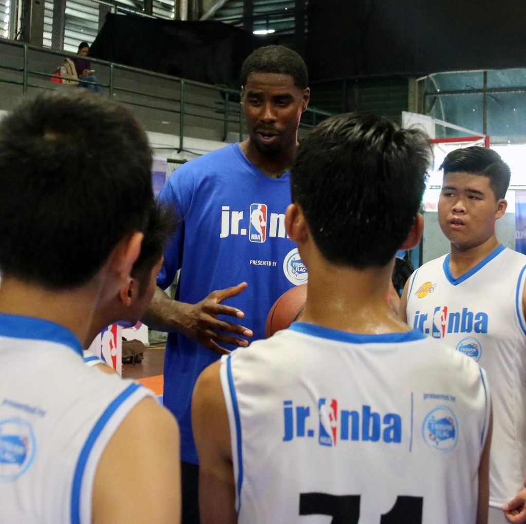 Marvin Williams Latih Anak-anak Indonesia