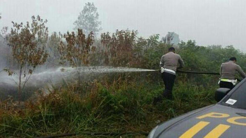 Januari-September, Polda Riau Tetapkan 93 Tersangka Kasus Kebakaran Lahan