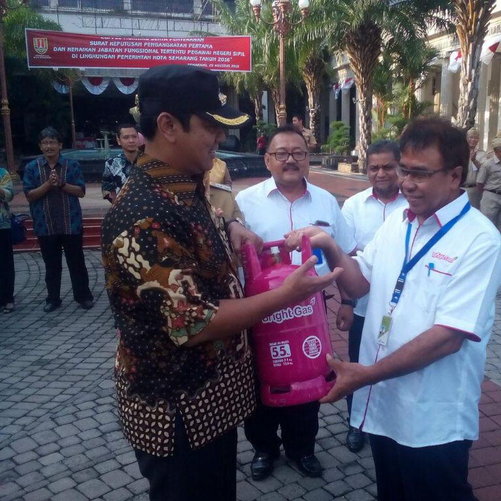 Mulai Hari ini PNS di Semarang Dilarang Pakai Elpiji 3 Kg