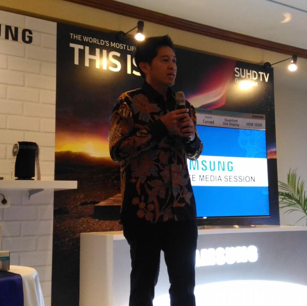 Pangsa Pasar Smartphone Samsung Stabil 44%