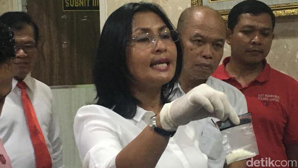 Polres Jaksel Meralat: Kristal di Rumah Gatot Brajamusti Positif Sabu