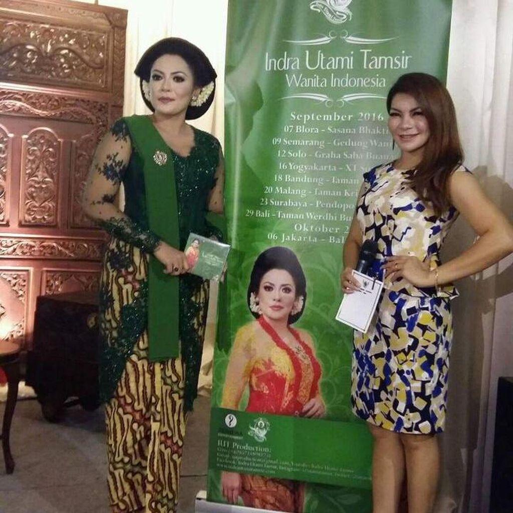 Indra Utami Tamsir Kembali dengan Album Wanita Indonesia