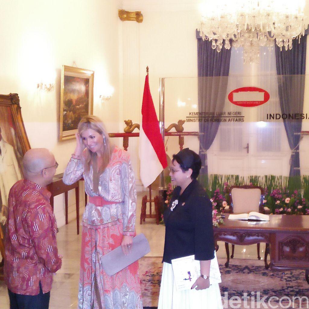 Bertemu Ratu Belanda, Menlu Retno: Bahas Financial Inclusion