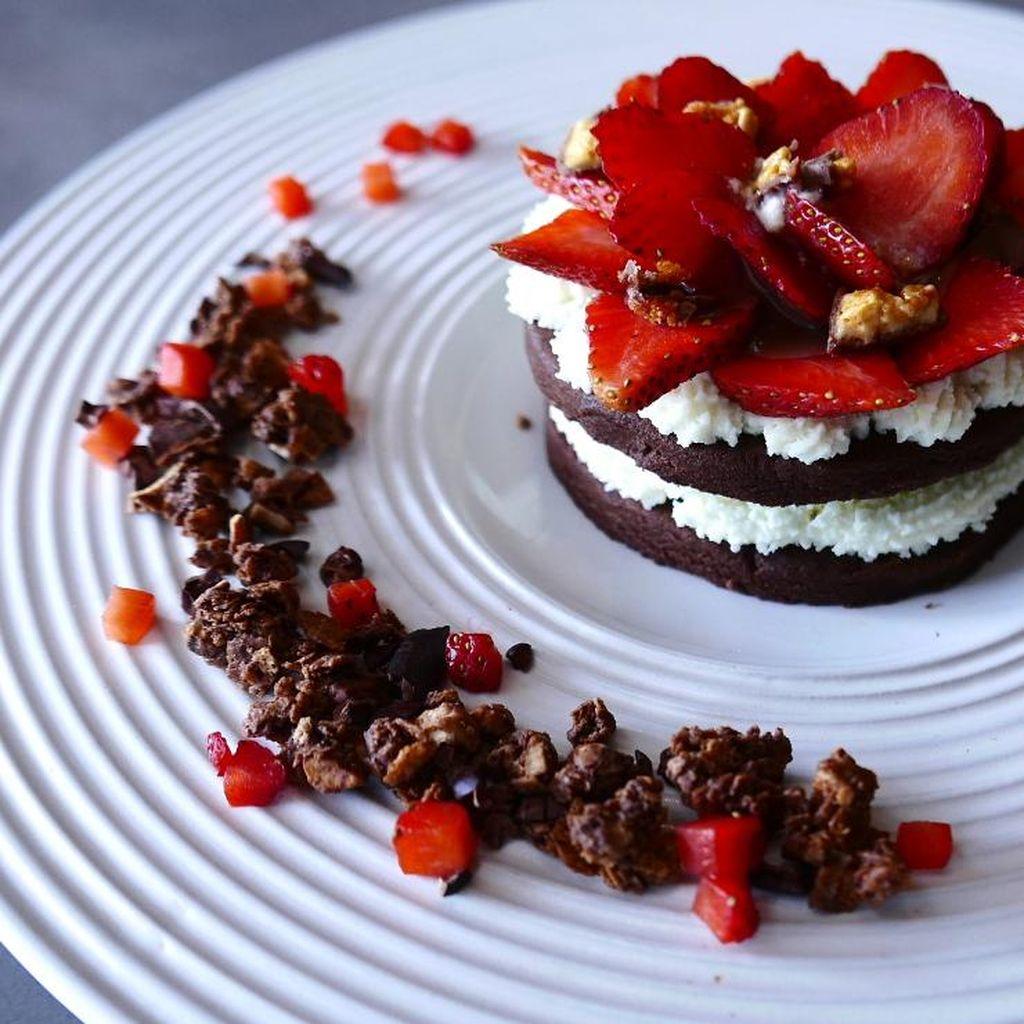 Resep Kue: Cocoa Nibs Sandwich Cookies